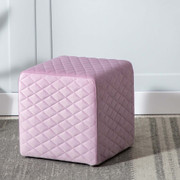 Quilted Cube-Pink