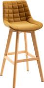 Brisbane Bar Chair-Mustard