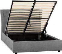 Camden Plus 4'6 Storage Bed-Grey