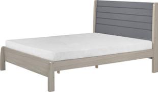 Nevada 4'6 Bed-Grey