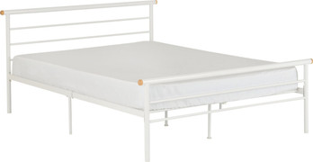 Orion 4'6'' Bed-White