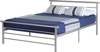 Orion 4' Bed-Silver