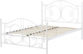 Annabel 4'6 Bed-White