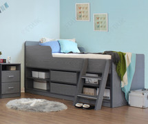 Felix Low Sleeper Bed-Grey