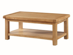 Newbridge Large Coffee Table with Shelf