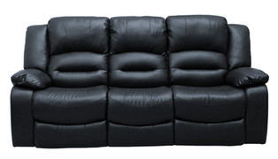 Barletto 3 Seater-Black