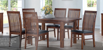 Andorra ExtDining Set (120 cm) with Strathmore Chairs