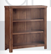 Andorra Acacia Low Bookcase