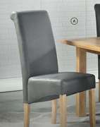 Andorra Washed Oak Dining Chair