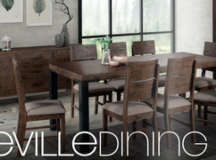 Seville Dining Set with 6 Chairs (200 cm)