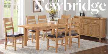 Newbridge 4x3 Butterfly Dining Table