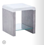 Clarus Fusion End table