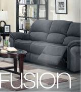 Kingston Fusion 3 Seater-Charcoal