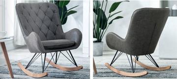 Ashley Rocking Chair-Antique Grey
