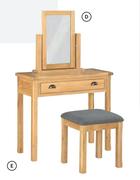 Glenbrook Dressing Table & Stool