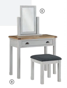Glenbrook Painted Dressing Table & Stool