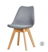 Baxter Dining Chair-Grey