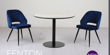 Fenton Dining Set with Sutton Chairs