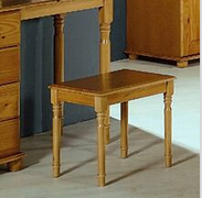 Alex Dressing Stool   Solid Pine