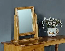 Alex Dreesing Table Mirror  Solid Pine