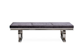 Arianna Bench-Charcoal
