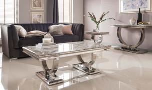 Arianna Coffee Table-Grey