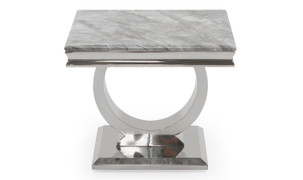 Arianna Lamp Table-Grey