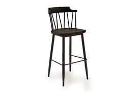 Blake Bar Chair - Black Elm