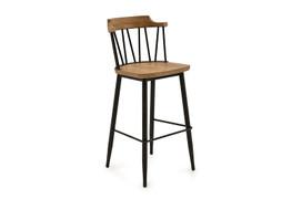 Blake Bar Chair - Natural Elm