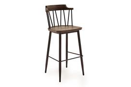 Blake Bar Chair - Rustic Elm