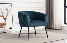 Zara Occasional Chair-Navy