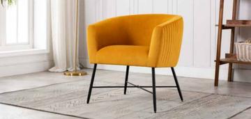 Zara Occasional Chair-Apricot