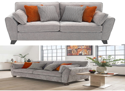 Cantrell 3+2 Seater-Silver
