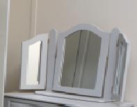 Doonbeg Triple Ornate Mirror