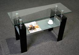 Frankfurt Black Console Table  W110cm X D40cm X H70cm