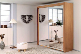 Imperial All Mirror 1.5 mt beech