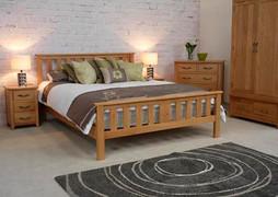 """Klara 4'6"""" Bed"""