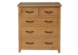 Klara Tall Chest- 5 Drawer