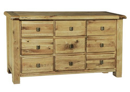 York Dressing Chest-9 Drawer