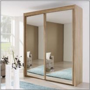Imperial All Mirror 2 mt Oak