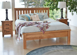 Hampshire 6' Bed- Low Footboard.