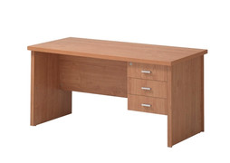 Oscar Desk- 3 Drawer (150cm)