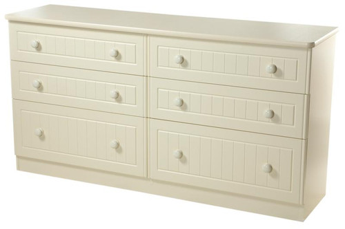 Avimore 6 Long Drawer Chest The warm complete magnolia look is elegantly stylish and will bring a class look to any home this product comes   fully assembled