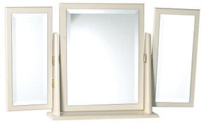 Avimore Butterfly Triple Mirror The warm complete magnolia look is elegantly stylish and will bring a class look to any home this prudoct comes  fully assembled