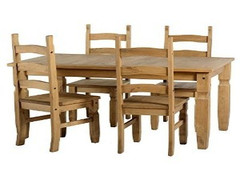 Corona 5'Fixed Dining Set