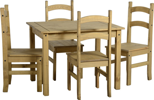Corona Budget Mexican Dining Set Ideal Furniture