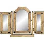 Corona Triple Swivel Mirror