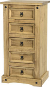 Corona 5 Drawer Chest