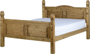 Corona 4'6'' Bed High Foot End