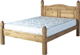Corona 4'6'' Bed Low Foot End